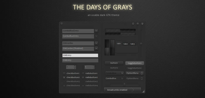 -The Days of Grays-