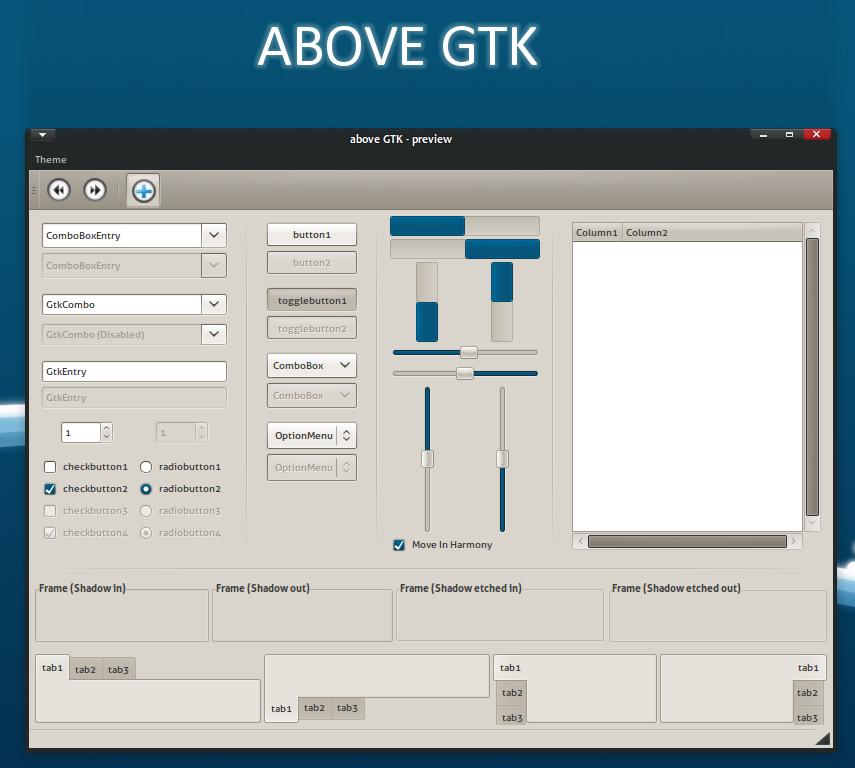 -Above GTK-