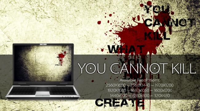 :you cannot kill: by liliumcruentus