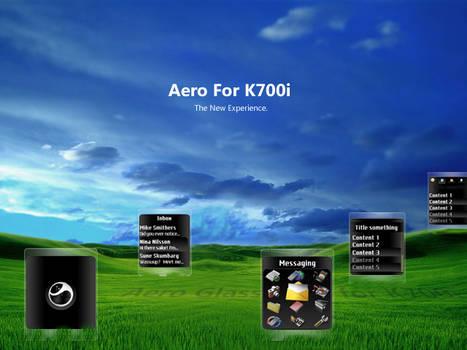 Aero Glass For K700i