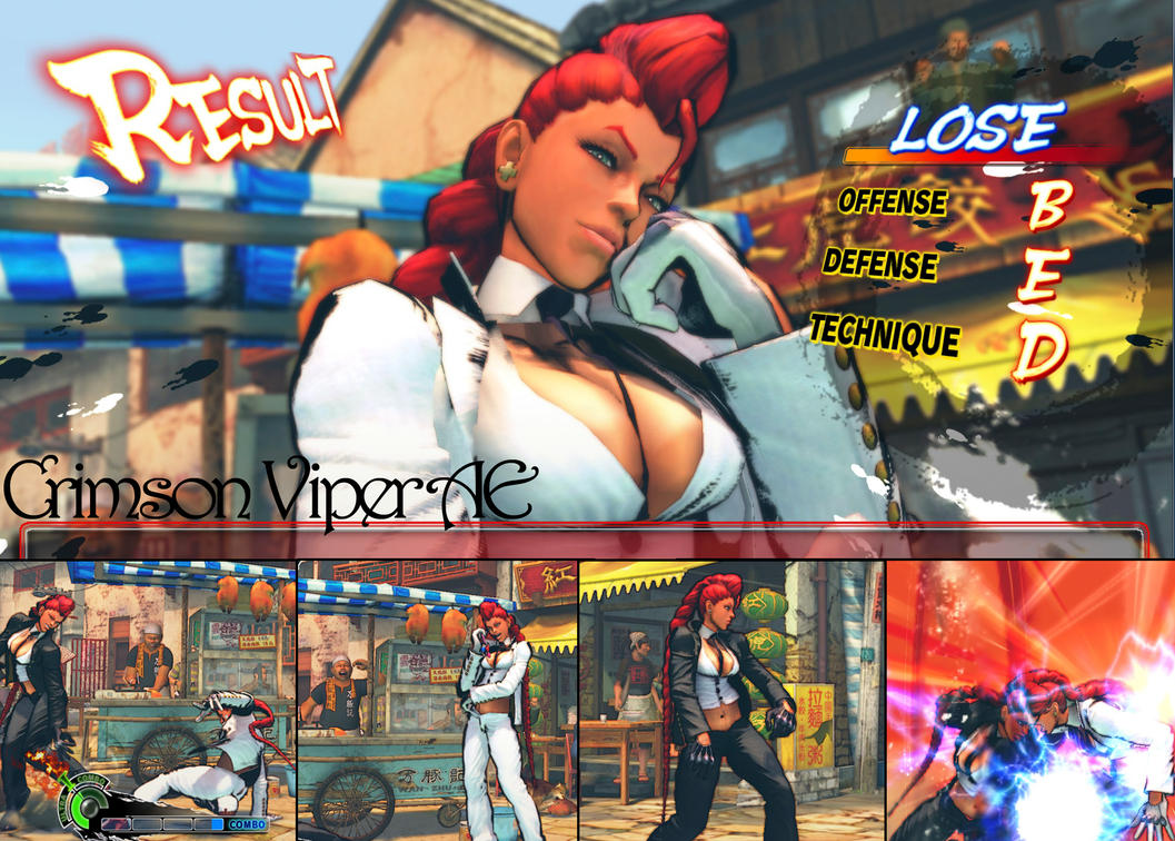 Crimson viper full nude skin for ssf4ae adult clip