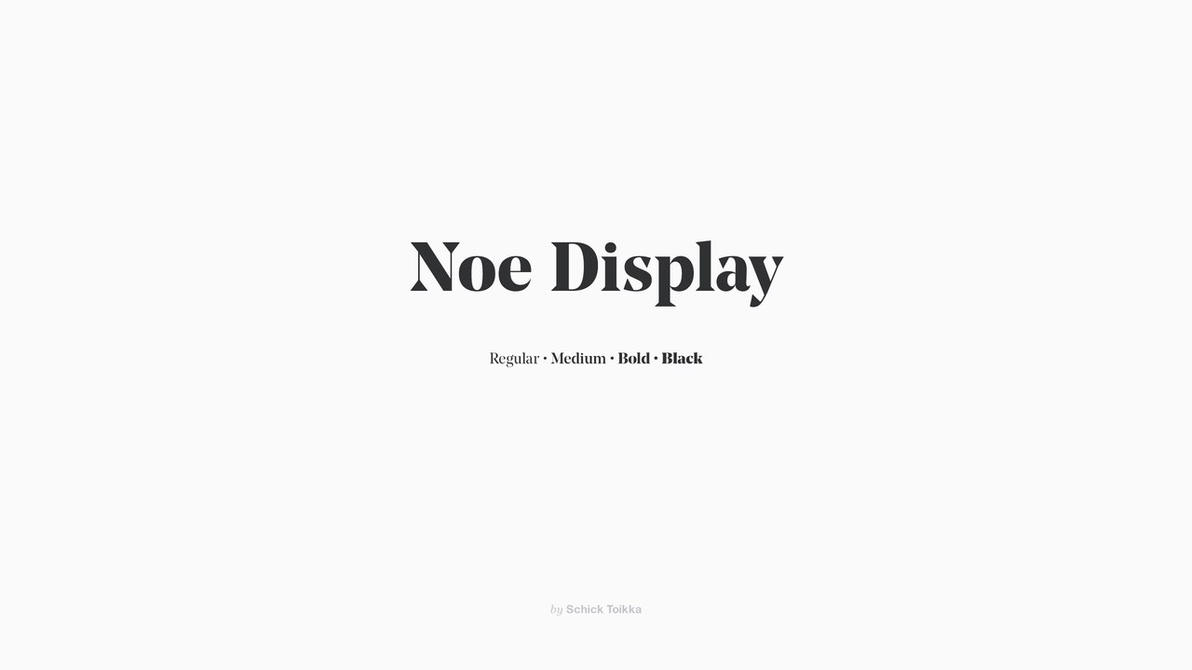 NoeDisplay by ArtAndreyCool