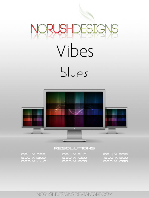 Vibes: Blues by NoRushDesigns