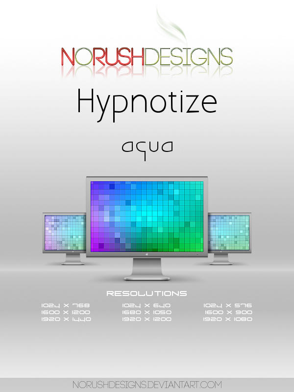 Hypnotize: Aqua by NoRushDesigns
