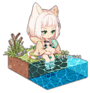 Pixel: By the pond