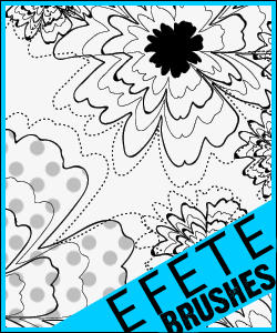 Retro Flower Pattern by efete-stock
