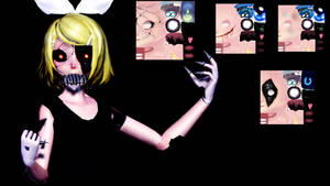 Tda Halloween Face Textures + DL by Chibi-Snorlax