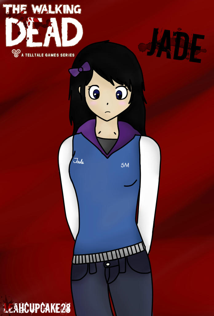 new oc the walking dead game jade by