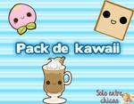 Pack de kawaii's de comidas