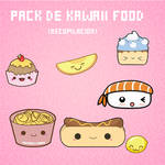 Pack de Kawaii Food
