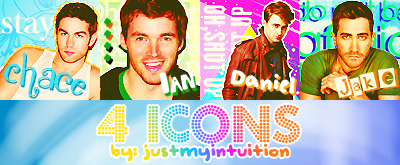 4 Icons by justmyintuition