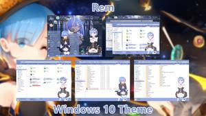 Rem Theme for Windows 10