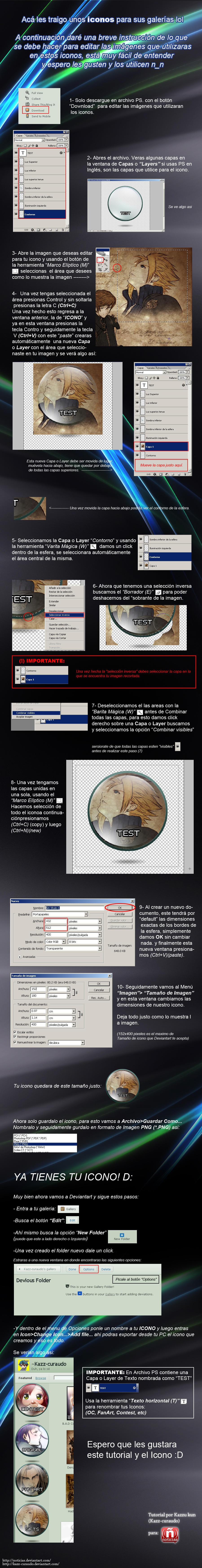 ICON para tu Galeria by Cloudxmoe