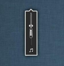 Zipper Volume by XwidgetSkin