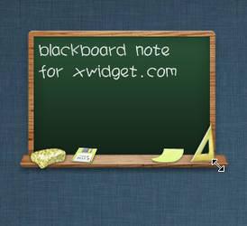 Blackboard Note