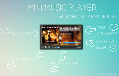 A Music Player For Xwidget
