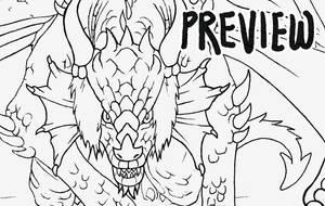Free Dragon Lineart by Saskle