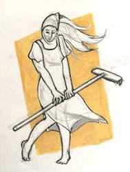 Farmer Girl by Saskle