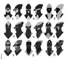 Harpy Headshots by Saskle