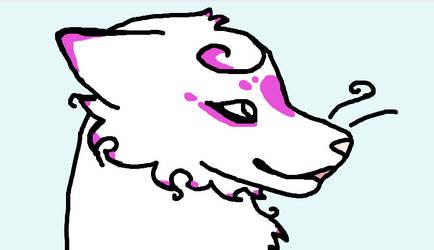 Violet profile shot