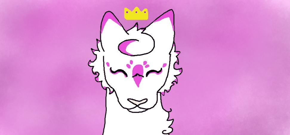 Violet becoming princess by Warriorcatfannn