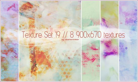 Texture Set 19 by diastereomer