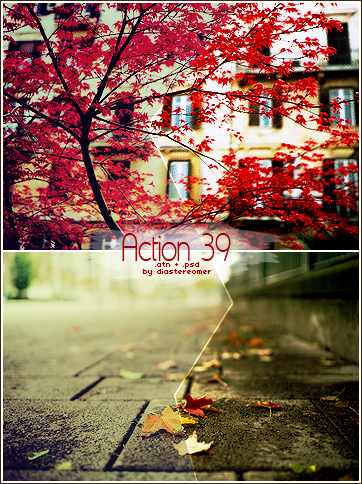 Action 39 + PSD by diastereomer