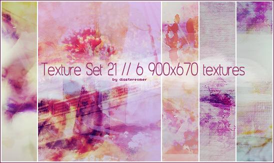 Texture Set 21 by diastereomer
