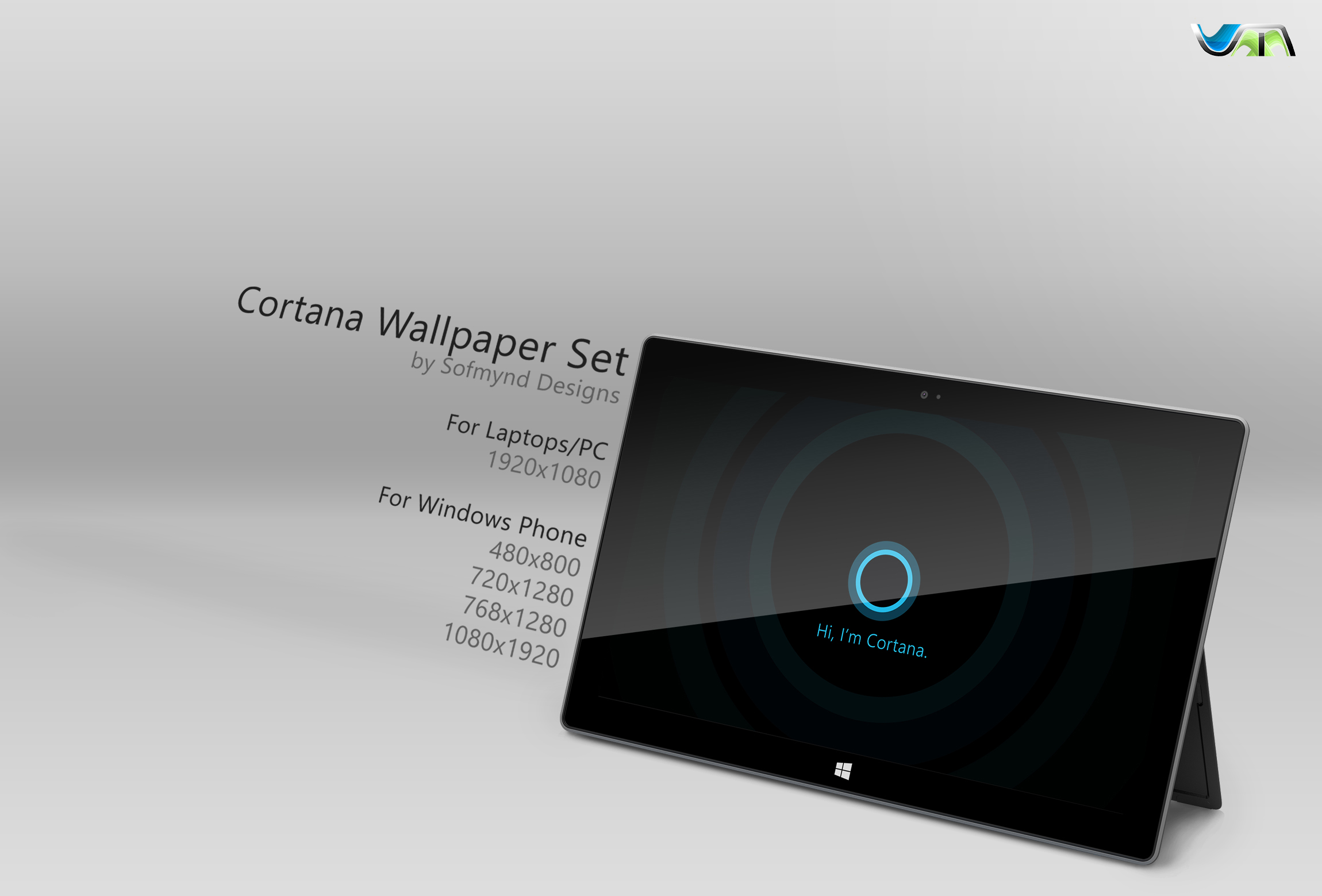 Cortana Wallpaper by RaUnAq007