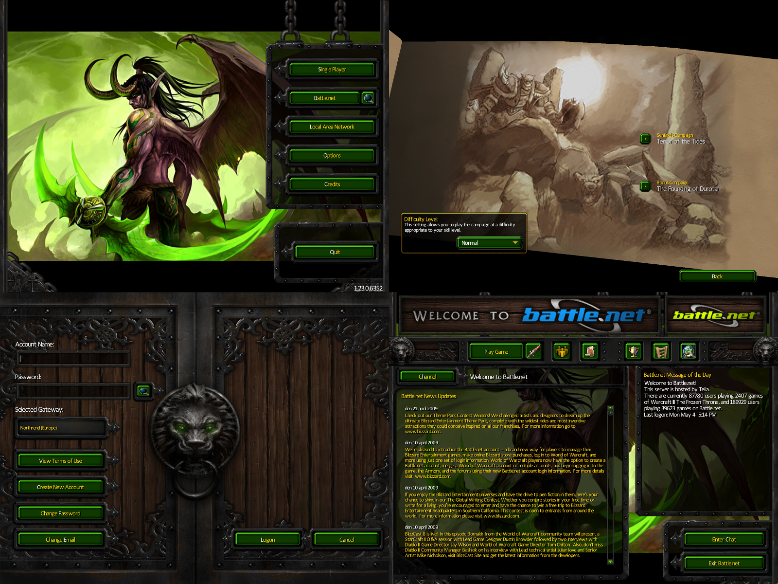 Warcraft III UI Modification 1 by Christor86 on DeviantArt