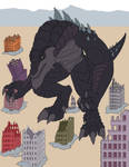 Godzilla tf animation