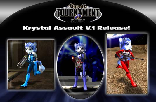 UT2004 Krystal Assault V.1 Release!