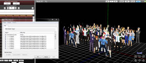 Paper Crowd DL Pack (Model and Motions Included) by