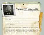 Vintage CSS - updated