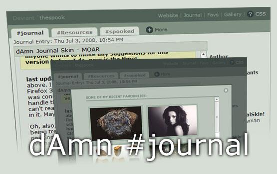 dAmn journal skin - CSS - updt