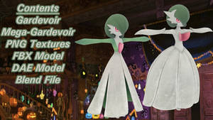 Gardevoir | Pokken Tournament DX 3D Model