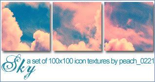 100x100 Sky Textures by princesspeach0221