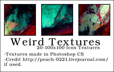 Weird Textures