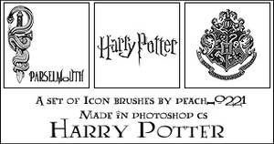 Harry Potter Brushes