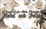 Floral and Foliage Brushes