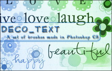 Deco Text by princesspeach0221