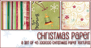 Christmas Paper Textures