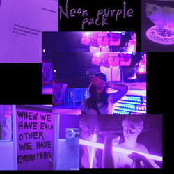 + Neon Purple Is Here (Image pack)