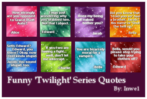 Funny Twilight Series Icons