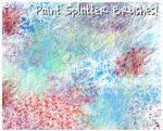 Paint Splatter Brushes