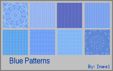 Light Blue Patterns