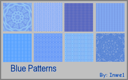 Light Blue Patterns by Inwe1