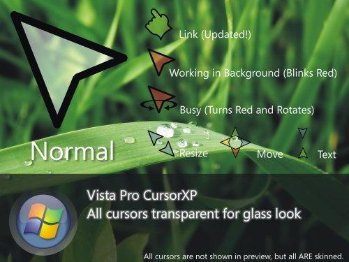 Vista Pro CursorXP by RPGuere