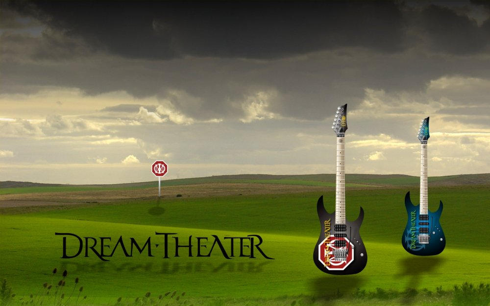 Dream Theater Guitars by RPGuere