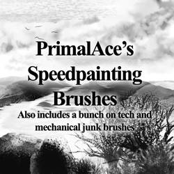 Speedpainting Brushes - FIXED by PrimalAce